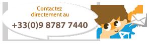 contactez au +33 9 87877445